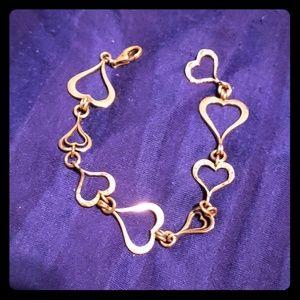 Silpada Spread the love heart bracelet b1701